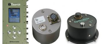 Figura 3 Da sinistra: l'acquisitore Taurus della Nanometrics; il velocimetro LE-3DLite della Lennartz; l'accelerometro Episensor FBA ES-T della Kinemetrics