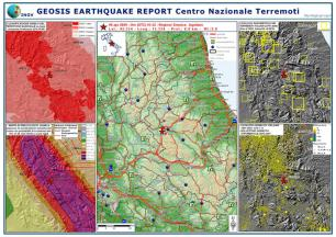 GEOSIS Earthquake Report