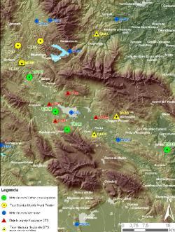 mappa delle reti di Pronto Intervento